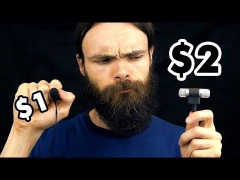 $1 Microphone Vs $2 Microphone ASMR (10 triggers)