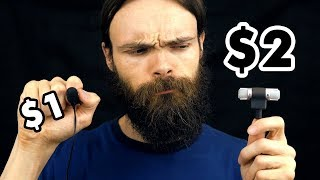 $1 Microphone Vs $2 Microphone ASMR (10 triggers)