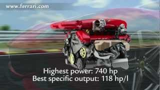 F12berlinetta Focus On The Engine Youtube