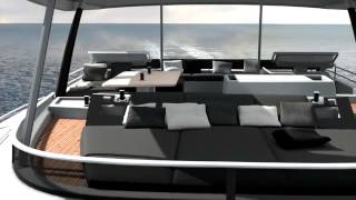 Lagoon 630 MY Power Catamaran Luxury boat & Crewed Private MotorYacht charter in Greece