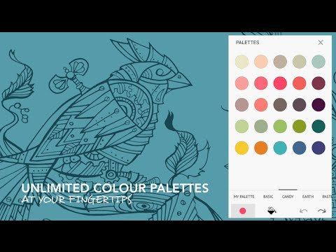 Colour Therapy An Adult Colouring App