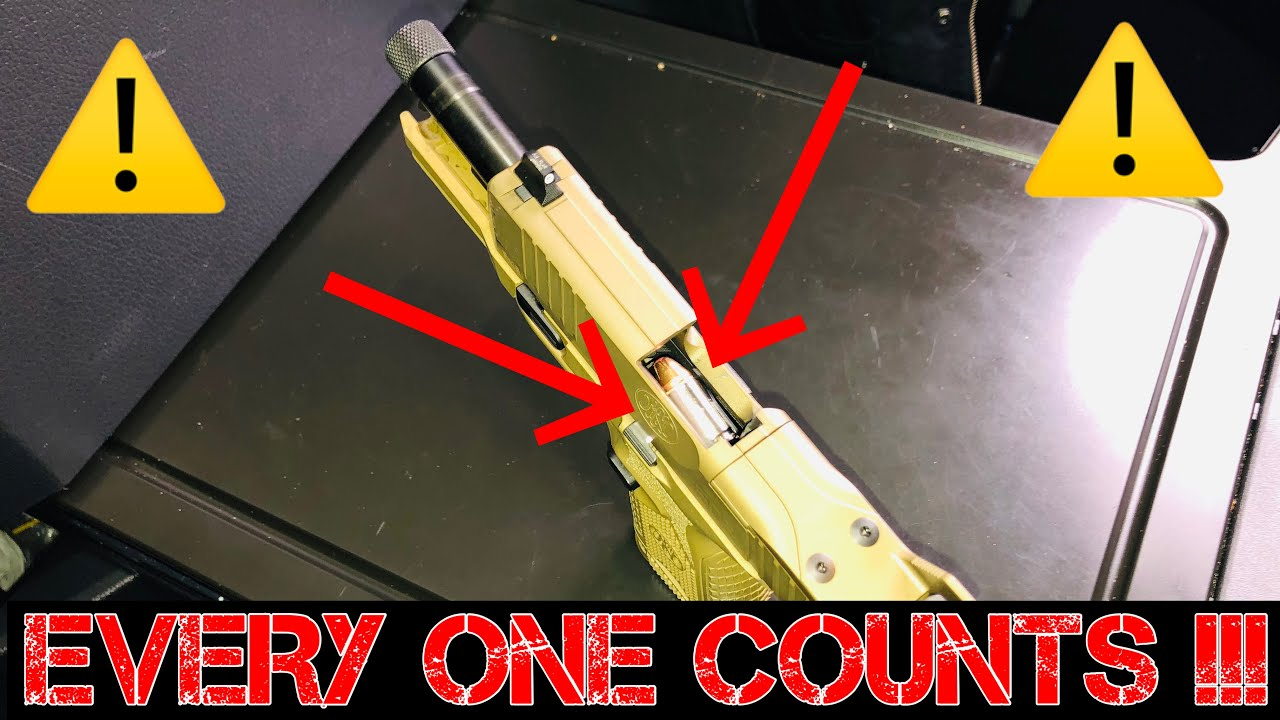 HOW TO GET COMFORTABLE CARRYING WITH ONE IN THE CHAMBER
