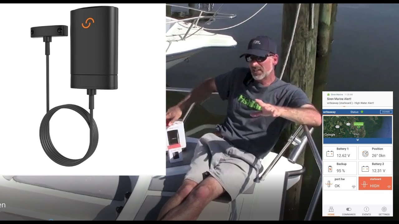 Siren Marine Wireless High-Water Sensor