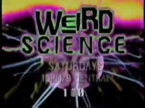 USA Network Weird Science Promo 1995