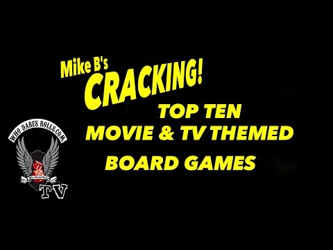 Mike B's Cracking Top Ten Movie & TV Themed Board Games