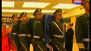 King Hero   Ceremony in China Before Moving to Cambodia