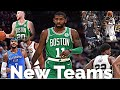 NBA Players First Basket On New Teams