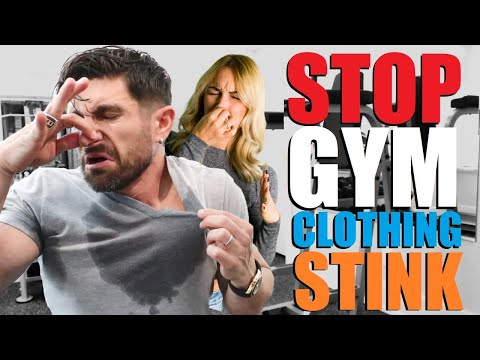 6 Tips to STOP Your Gym Clothes from STINKING! (Like a DEAD Animal)