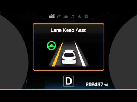 Lane Keep Assist >> 2016 Hyundai Genesis Lane Keep Assist