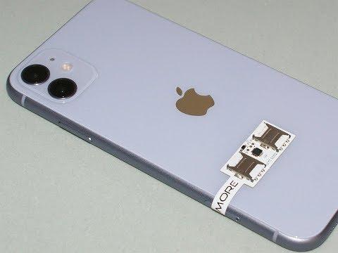 IPhone 11 Dual SIM Transformer - 2 SIM Adapter SIMore Speed Xi-Twin 11