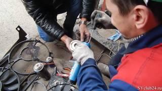 Установка электровентилятора от НИВЫ вместо вискомуфты SsangYong D20DT