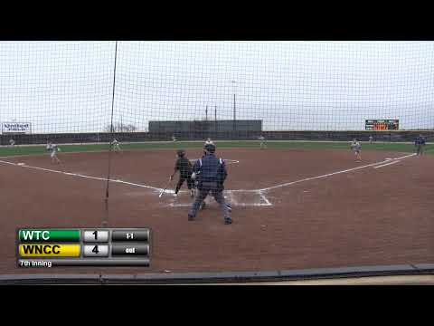 Western Texas College vs Western Nebraska Community College (Softball) Game 2
