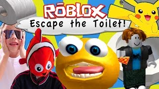 Roblox | ESCAPING THE TOILET OBBY! | Twins Adventures