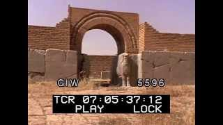Nineveh Ruins Wall before ISIS Destroyed Them