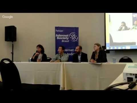 Encontro Internet Society Brasil 2015, parte 1