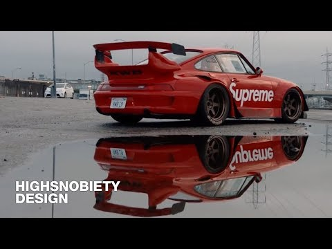 This Supreme-Decaled Porsche 911 Is Every Streetwear Kid's Dream
