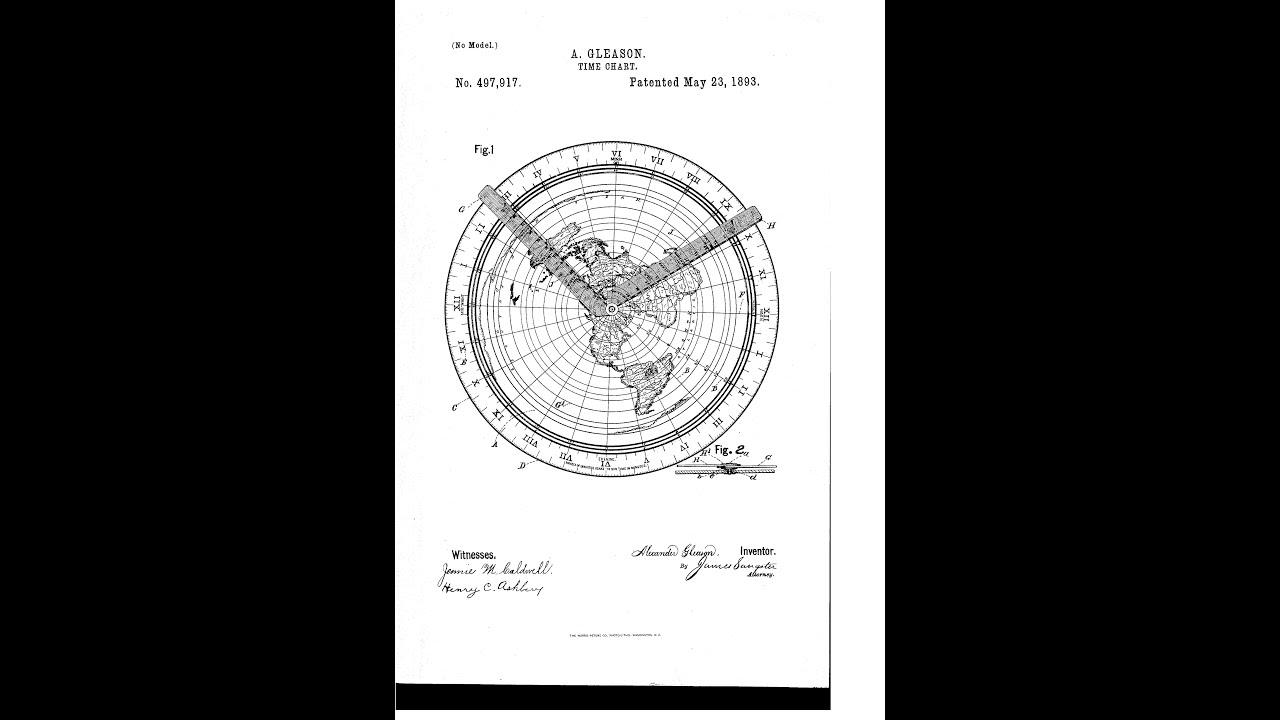 Flat Earth Hidden Message In Gleason Map