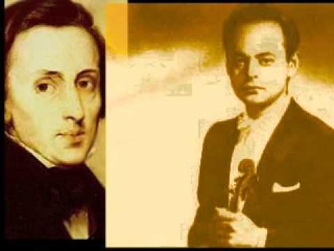 """Michael Rabin - Chopin arr. Milstein """"Nocturne"""""""