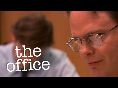 The Man Cave - Dwight Time Thief - The Office
