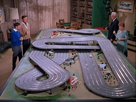 1966 Batman Slot Car Track