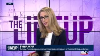 Ceng Sagnic on Syria and Kurds - i24News - Live - 6 September 2016