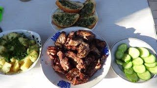 Шашлык из свинины в маринаде из кефира(Еще один рецепт приготовления шашлыка, маринуется на кефире за 2-3 часа. Простой и вкусный рецепт маринада..., 2015-04-30T14:04:24.000Z)