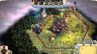 Vistazo a Age of Wonders 3 Gameplay Español