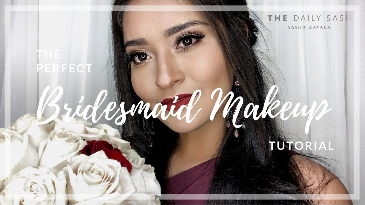 The Perfect Bridesmaid Makeup Look | Tutorial