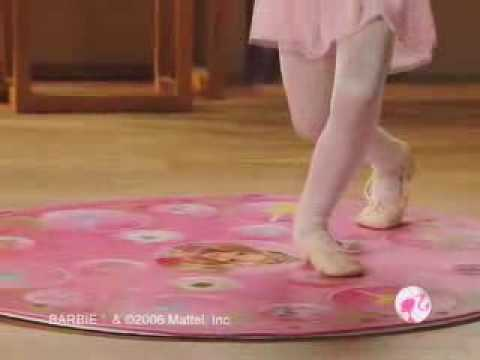 06 Barbie in The 12 Dancing Princesses Dance Mat Commercial