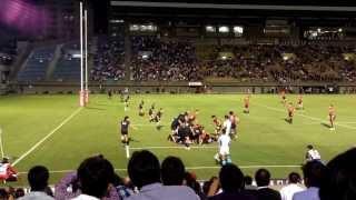 東芝ラグビー 秩父宮 リコー戦 2013.09