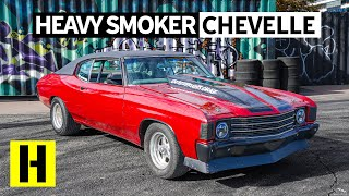 '72 Chevelle High School Daily Turned 500hp Daily Burnout Machine