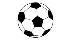 Wie zeichnet man einen Fußball (einfach)