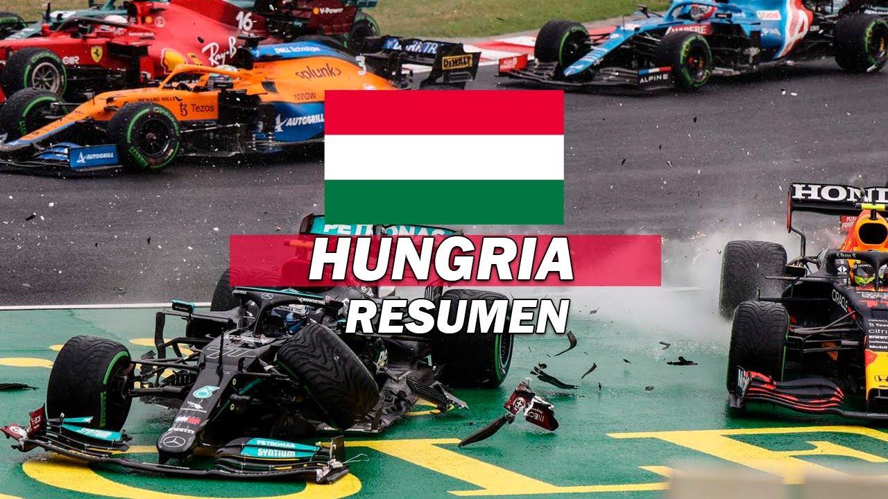 LA BELLEZA EN EL CAOS | RESUMEN GRAN PREMIO DE HUNGRIA F1 2021