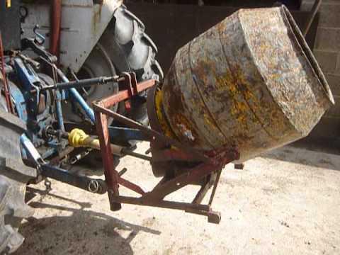 Tractor Concrete Mixer Doovi