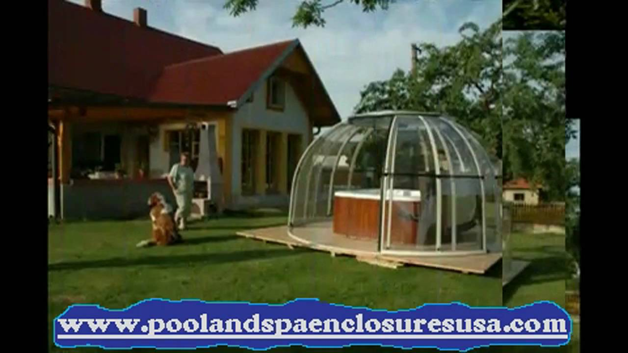 Spa And Hot Tub And Sunroom Enclosure Slideshow Youtube