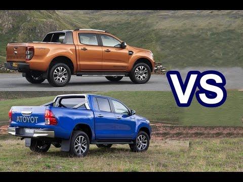 2016 Ford Ranger VS 2016 Toyota HiLux - DESIGN!