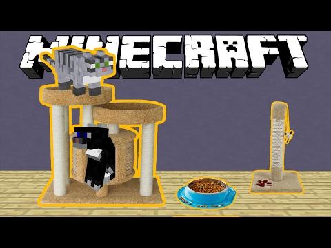 майнкрафт с котами и собаками