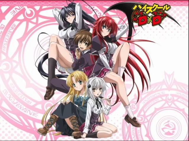 anime highschool dxd episode 2