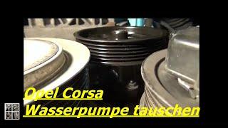 Opel Corsa 1,3 CDTI Quietscht Teil 3  Wasserpumpe tauschen