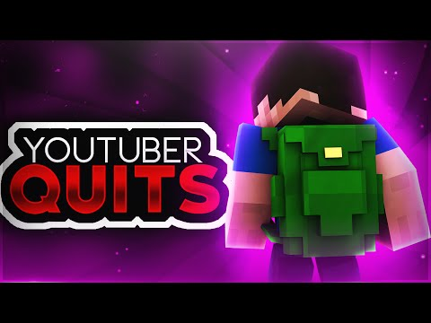 YOUTUBER QUITS MID VIDEO!! ( Minecraft MEGA Skywars w/ PrestonPlayz, Kenny, and TheCampingRusher )