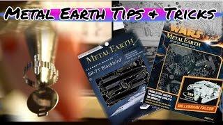 Metal Earth Tips and Tricks