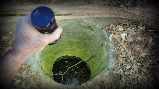 A Water Filled Death Well In The Woods