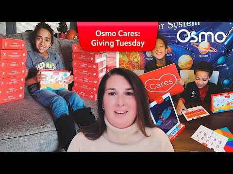 Osmo Cares - Giving Tuesday