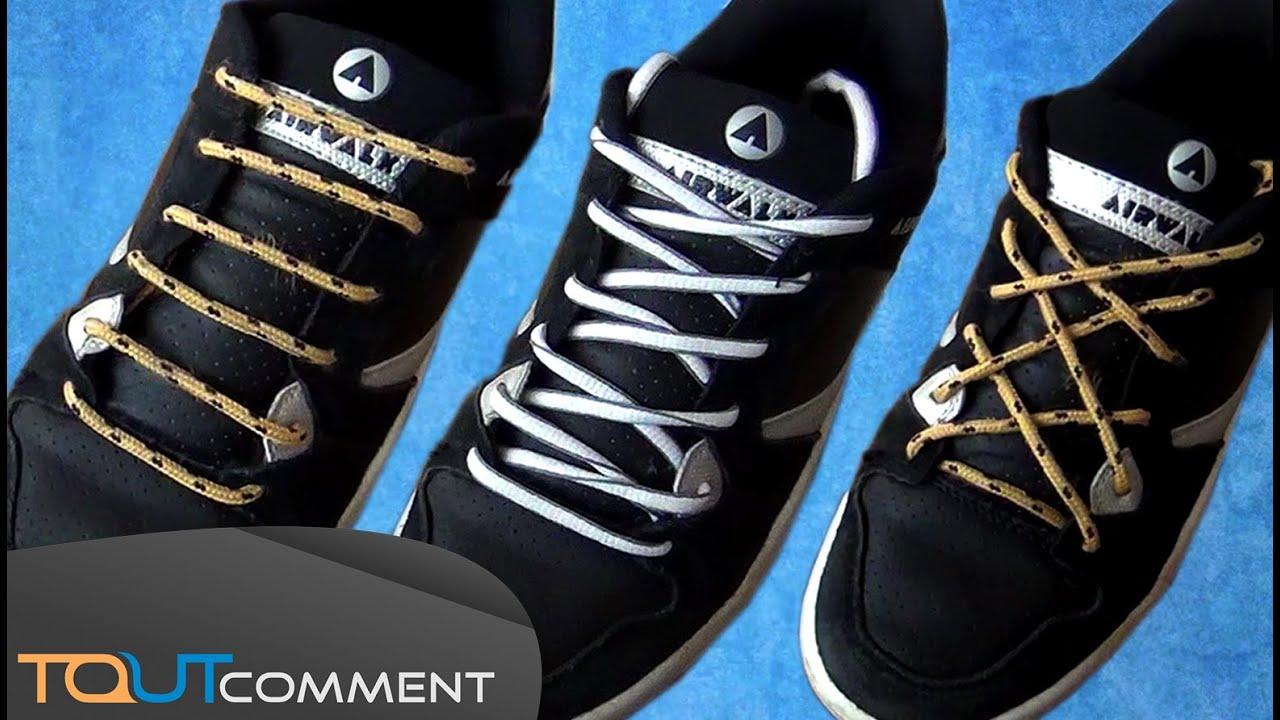 Lacets de chaussure qui ont du style youtube - Comment cirer ses chaussures sans cirage ...