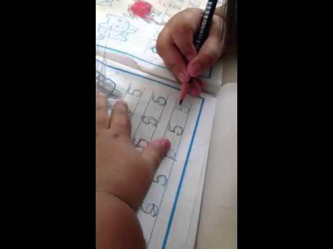 ฝึกเขียนตัวเลข