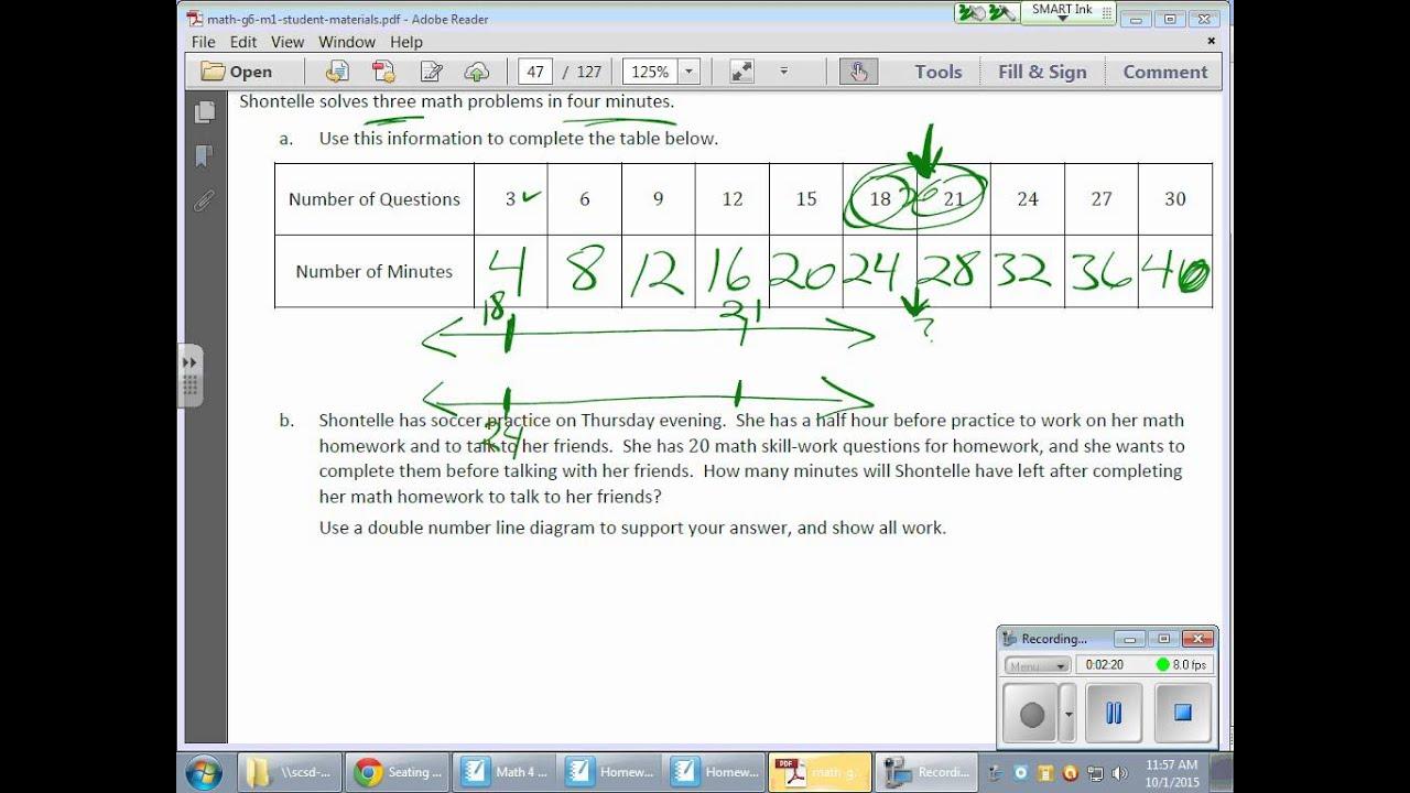 Grade 6 Module 1 Lesson 12
