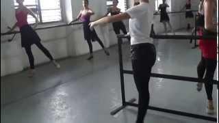 Rehearsal at Pro Danza of Cuba