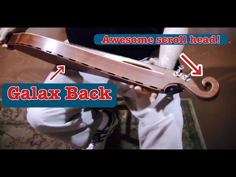 Folkcraft Instruments mountain dulcimer demonstration, serial number 20141587