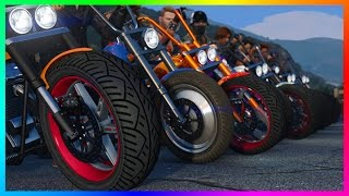 GTA ONLINE BIKERS DLC CONFIRMED! - NEW MOTORCYCLES, CUSTOM BIKE SHOP, CLUBHOUSES & MORE! (GTA 5)
