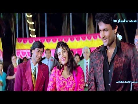 Aaj Ki Raat Naya Geet  (Kamalsk) Gair 1993 Bollywood Song Raveena Tandon.Ajay Devgan1080p Kumar Sanu